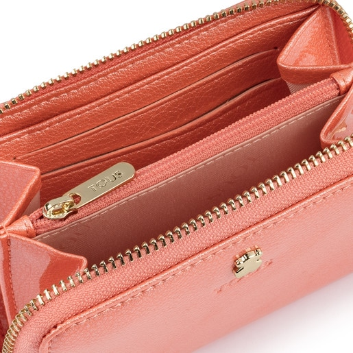 Small pink Dorp Wallet