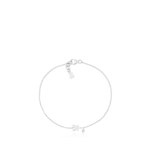 Bracelet TOUS Diamonds en Or blanc et Diamant