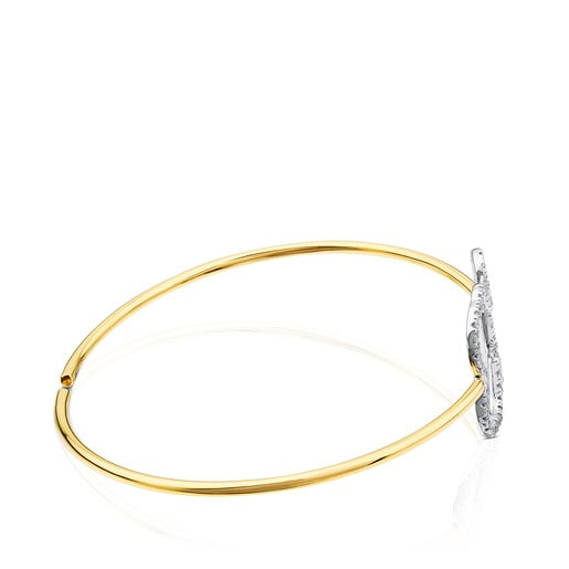 Gold TOUS Diamonds Bracelet - Earrings