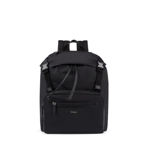 Morral con solapa New Berlin de Nylon negro