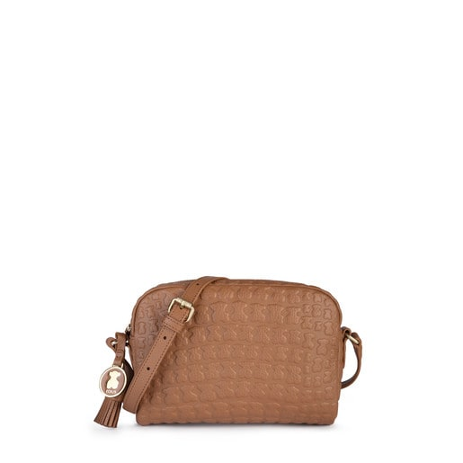 Brown Leather Sherton Crossbody bag