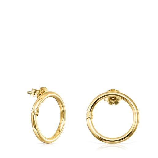 Gold Hold Earrings push back