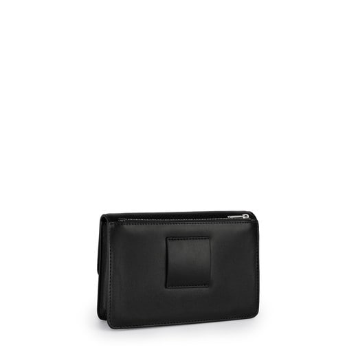 Small black Hold Crossbody Bag