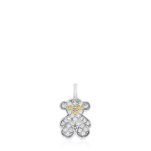 Colgante Sweet Diamonds de Oro blanco