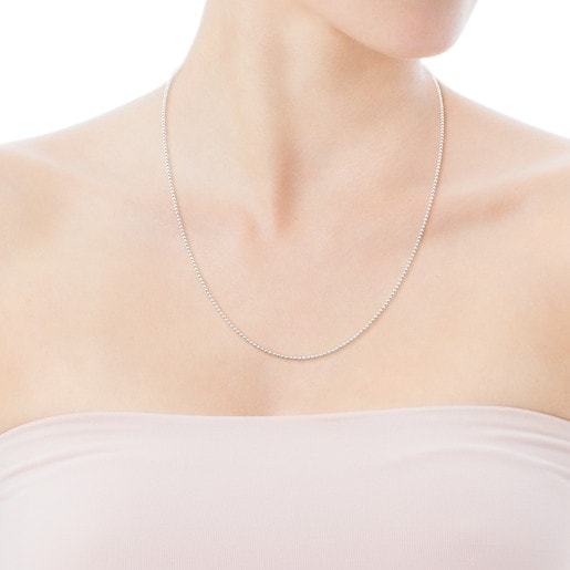 Silver TOUS Chain Necklace