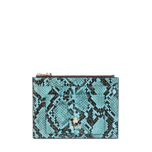 Flat blue Dorp Wild toilet bag