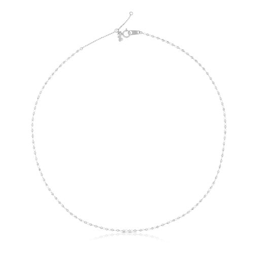 White Gold TOUS Chain Choker