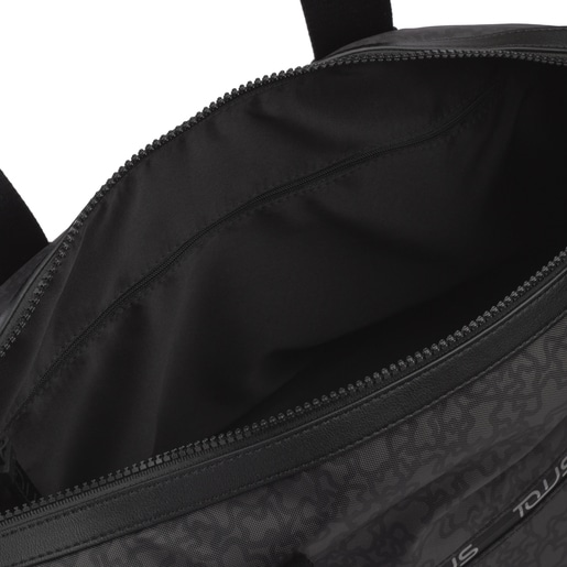 Black-gray Kaos Mini Sport Gym Bag