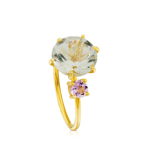 Ivette Ring in Gold with Amethyst