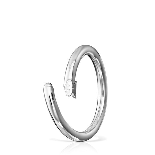Large Silver Hold Ring