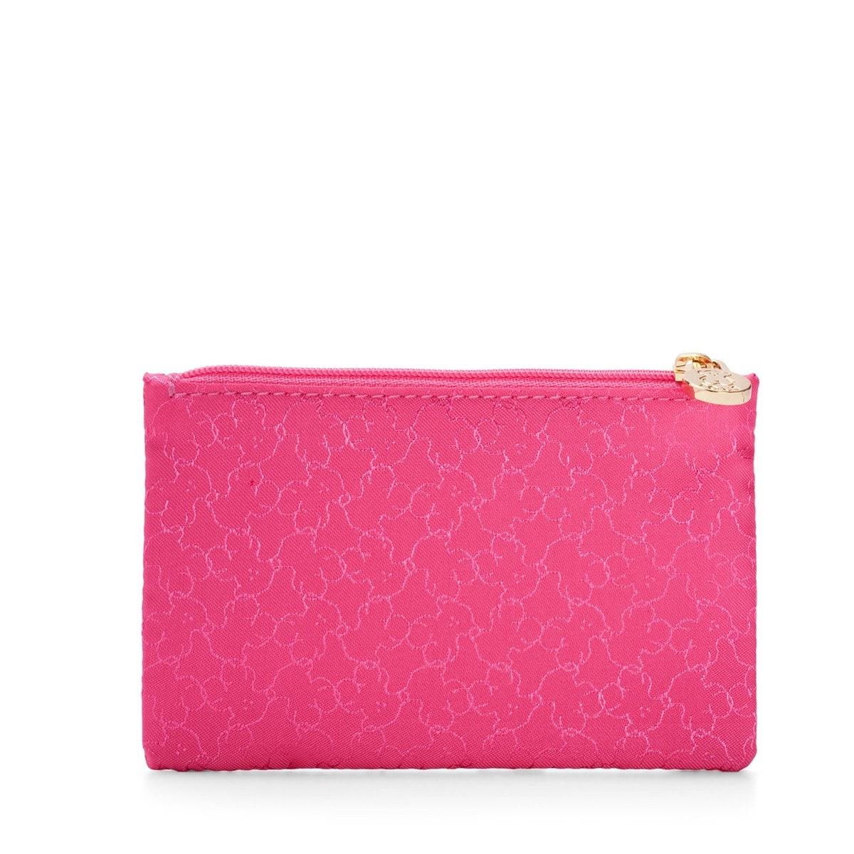 Small fuchsia Nylon Clasica Toiletry bag
