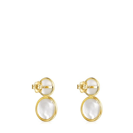Gold and Pearls Avalon Earrings