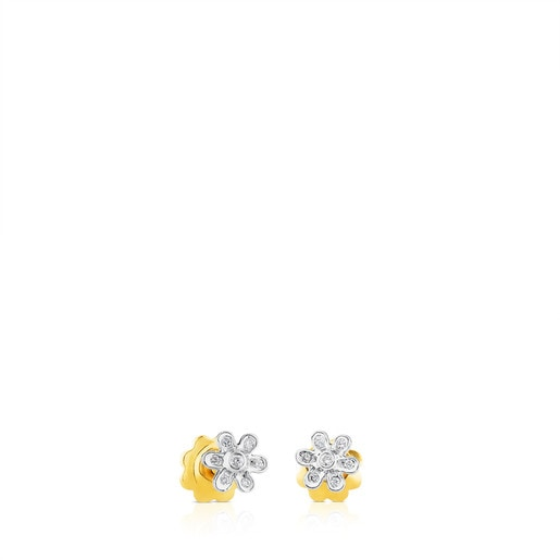 Boucles d'oreilles Puppies en Or