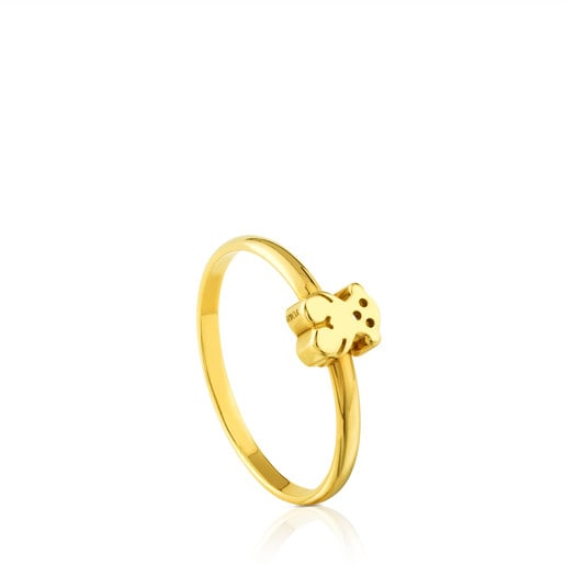 Anillo Puppies de Oro
