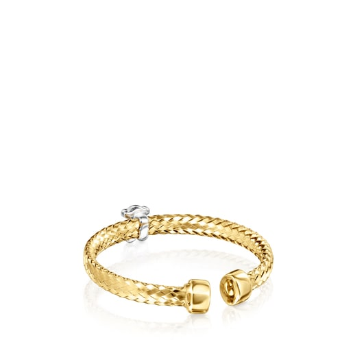 Anillo Light de Oro con Diamantes