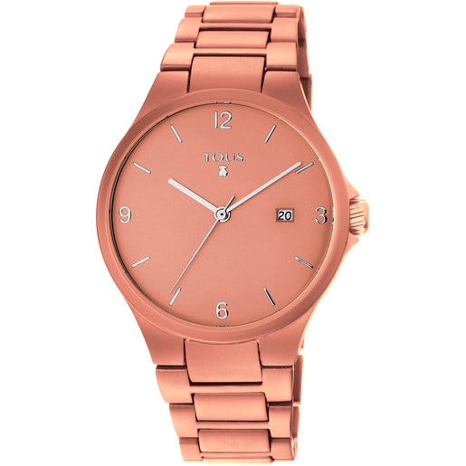Copper anodized Aluminium Motion Watch