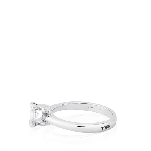 Anillo Sweet Diamonds de Oro blanco con Diamantes