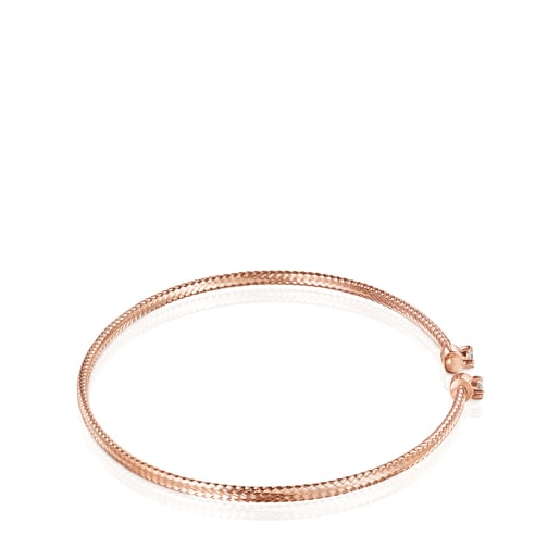 Light Bracelet in Rose Gold with Diamonds