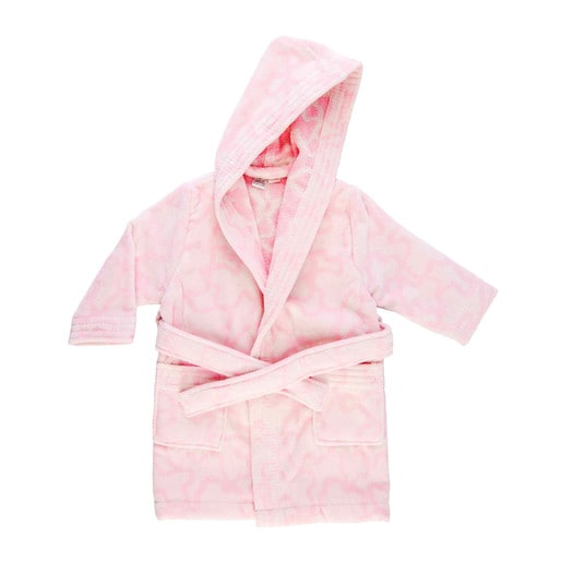 Kaos dressing gown in pink