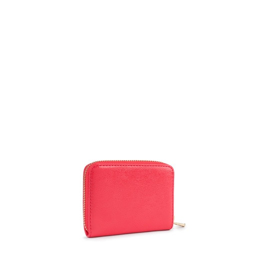 Medium coral Dorp purse