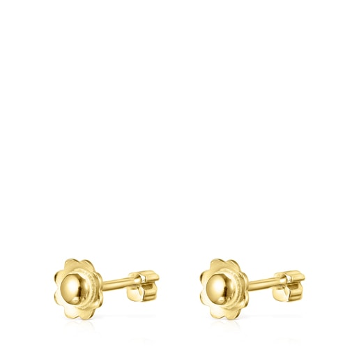 Straight Earrings in Gold