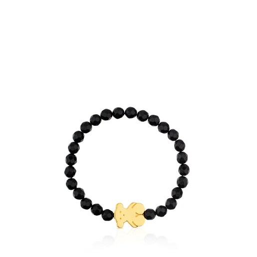 Vermeil Silver and Onyx Sweet Dolls Bracelet