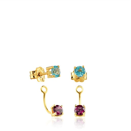 Gold Mix Color earings