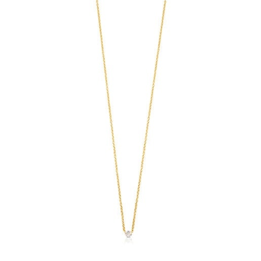 ATELIER Diamonds Necklace in Gold with Rose cut Diamond