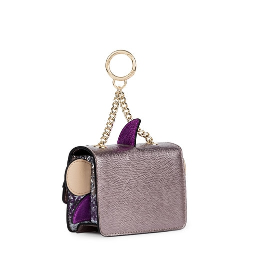 Gray Rene Shark Key ring