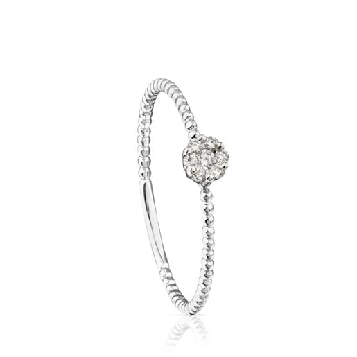 Anillo TOUS Brillants de Oro blanco con Diamantes