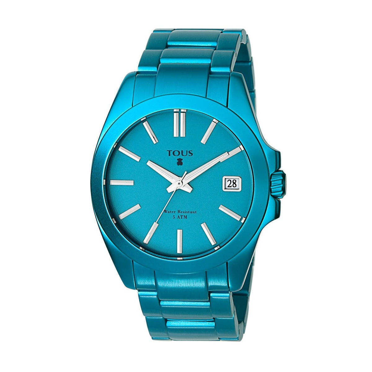 Turquoise anodized Aluminum Drive Watch
