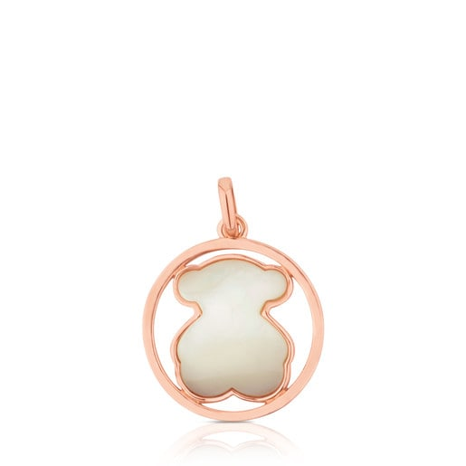 Rose Vermeil Silver Camille Pendant with Mother-of-Pearl