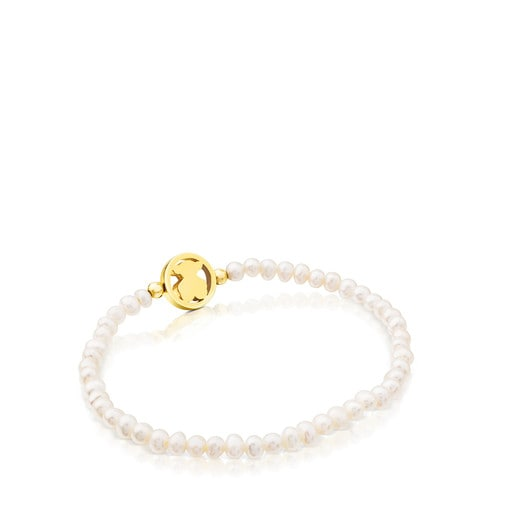 Camille Bracelet in Gold with Pearl