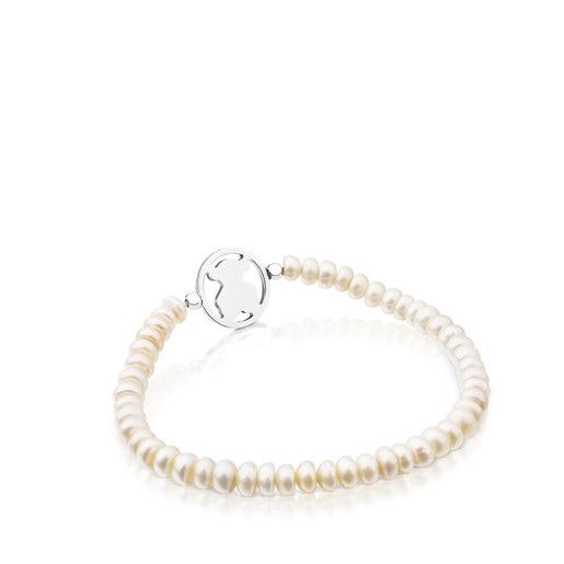 Camille Bracelet in Silver with Pearls