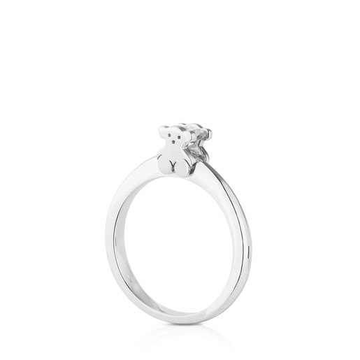 White Gold Sweet Diamond Ring with Diamond