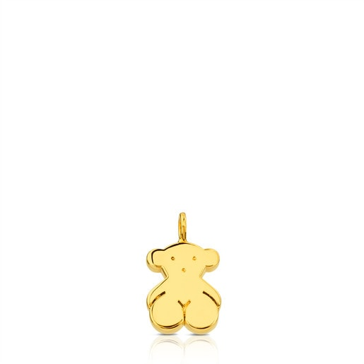 Gold Sweet Dolls Pendant medium Bear motif
