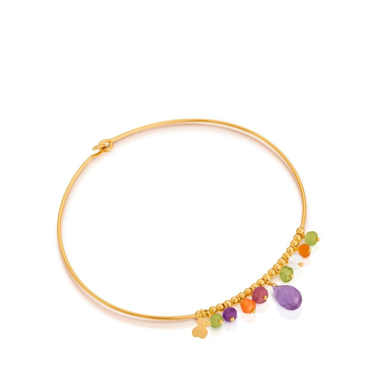Gold Caprice Bracelet with Gemstones