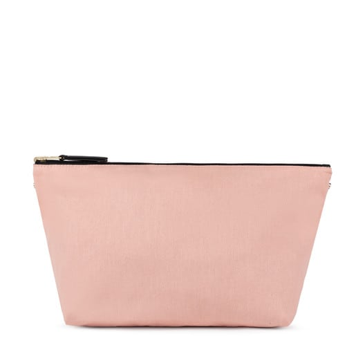 Medium pink-black Kaos Shock Reversible Handbag