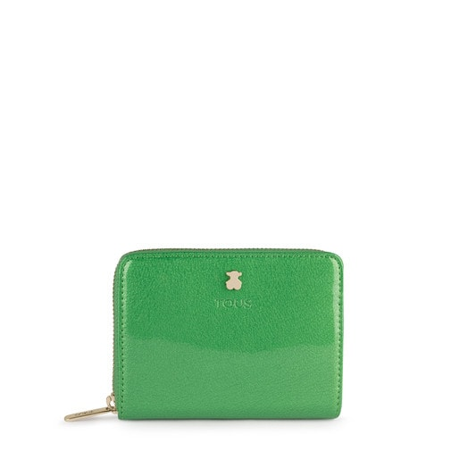 Small green Dorp Wallet