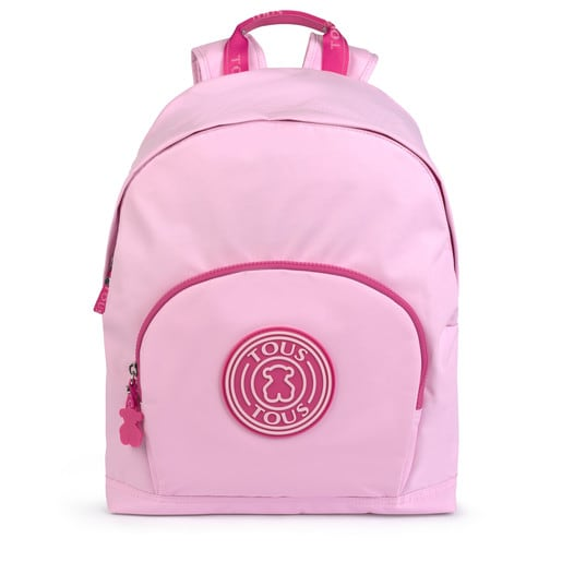 Morral mediano School rosa