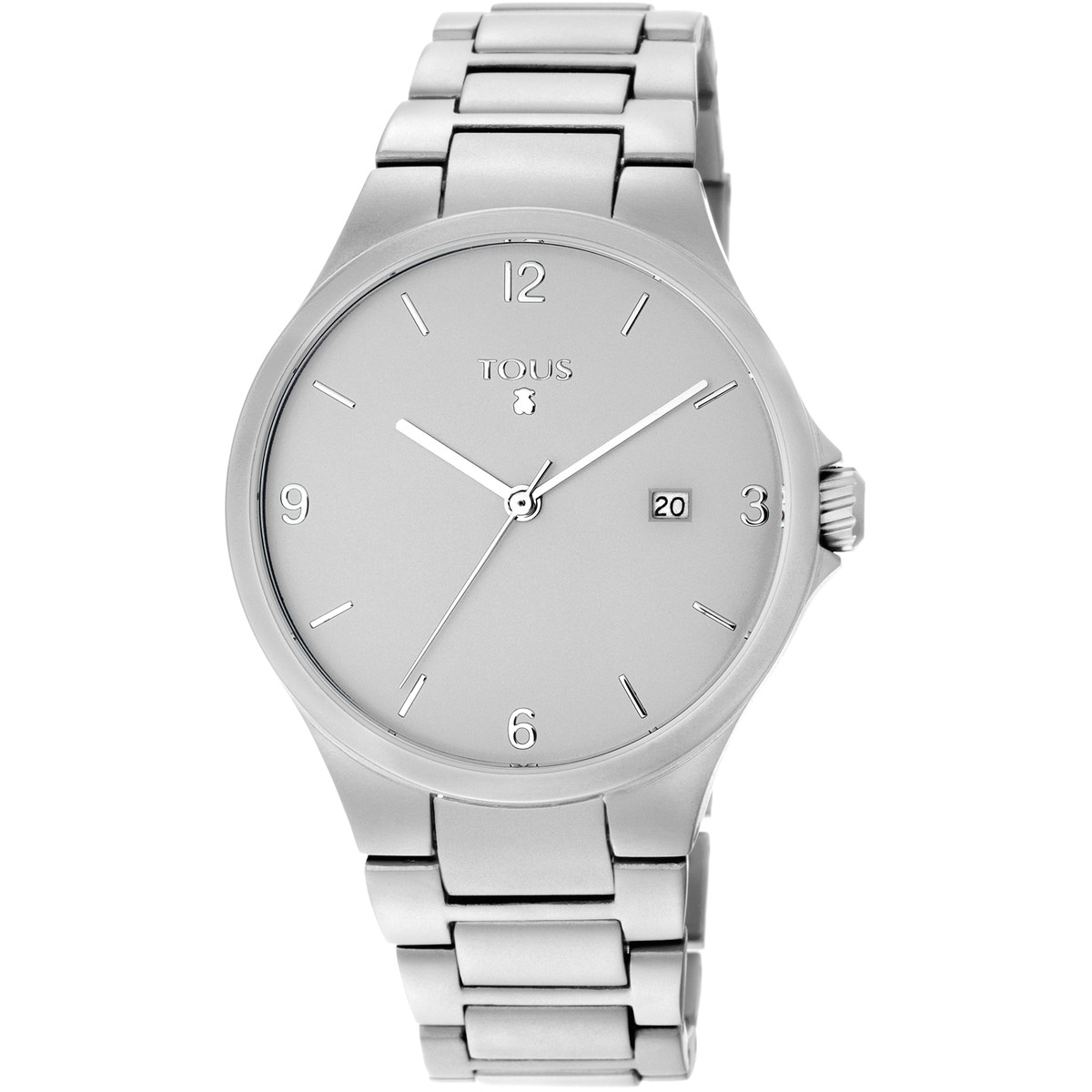 Silver anodized aluminum Motion Aluminio Watch