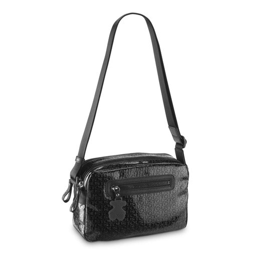 Small black Lindsay Crossbody bag