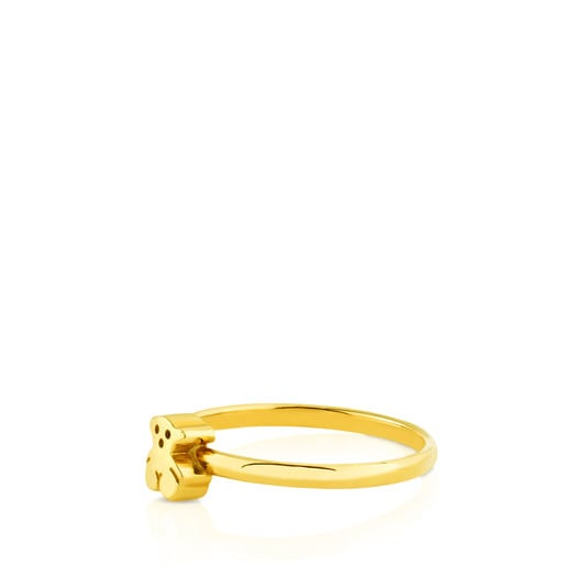 Gold Puppies Ring