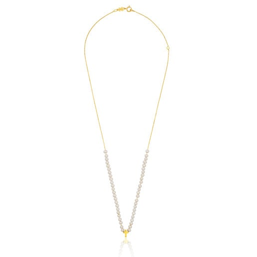 Gold Sweet Dolls XXS Necklace with Pearl