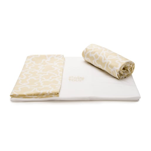Kaos set of sheets in beige