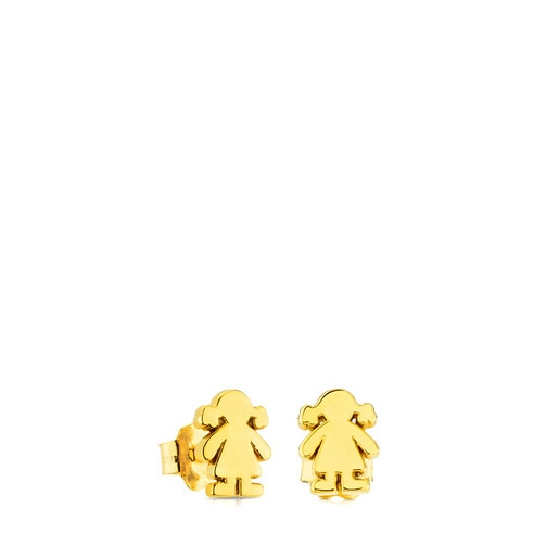 Gold Sweet Dolls Earrings