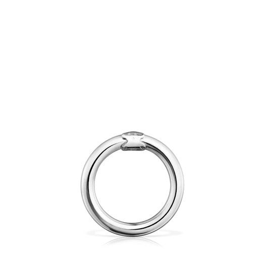 Medium Silver Hold Ring