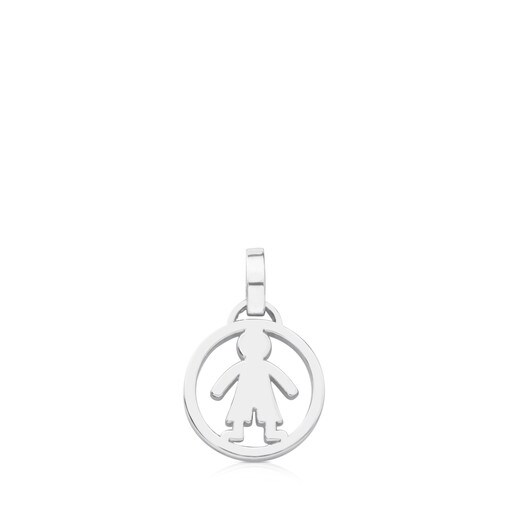 Camille Pendant in Silver