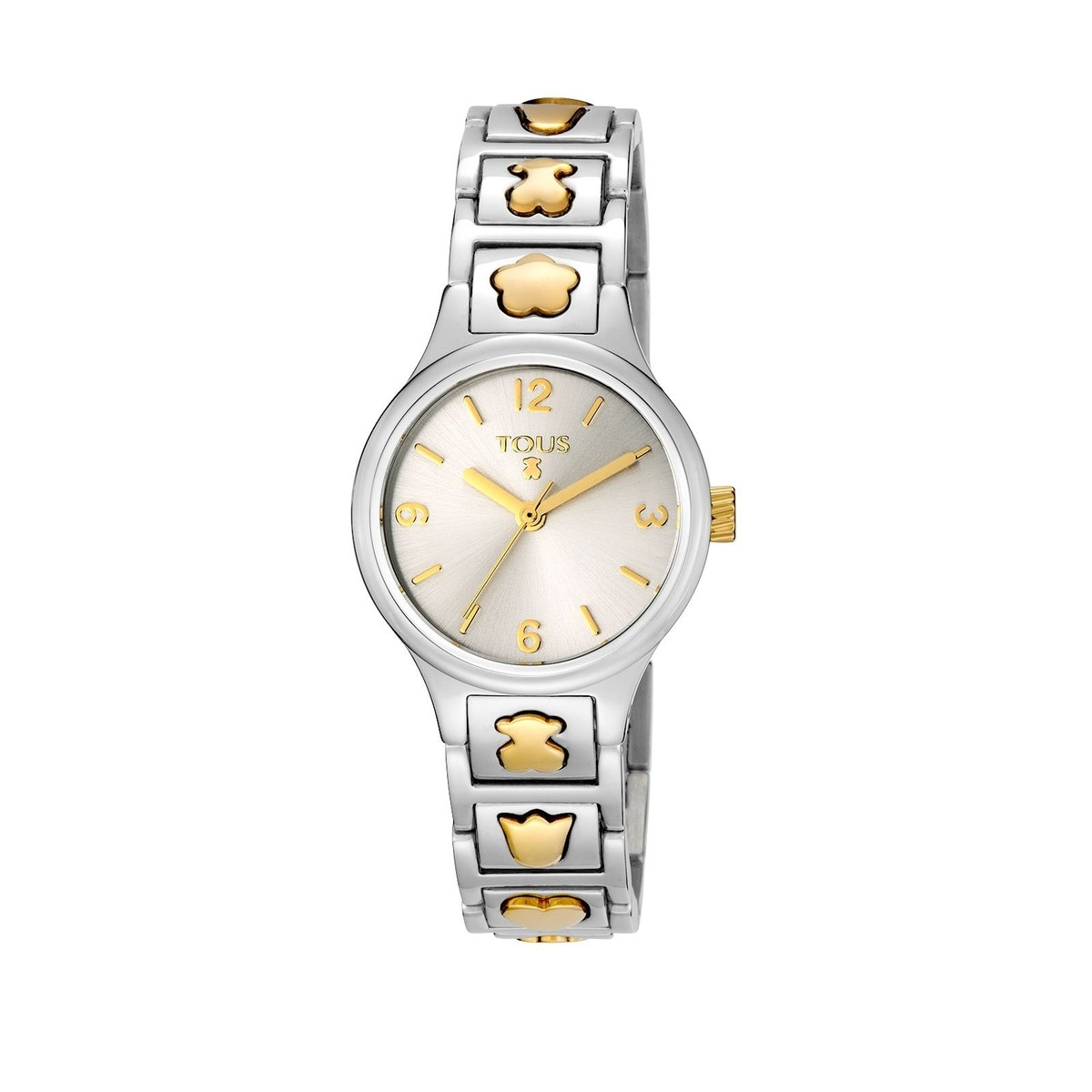 Two-tone gold IP/Steel Dolls Watch