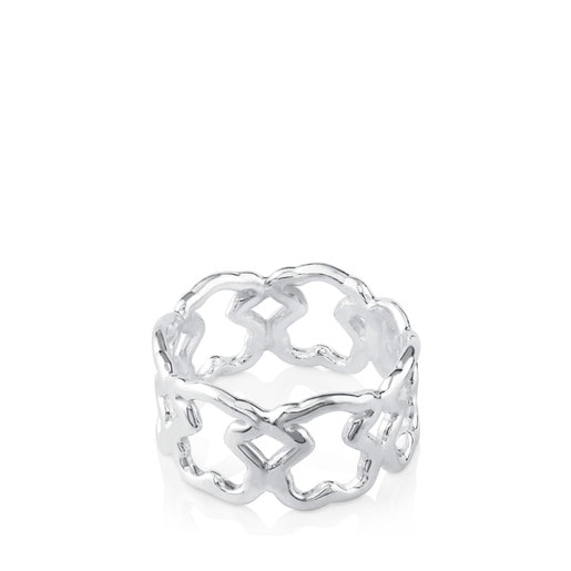 Silver New Carrusel Ring
